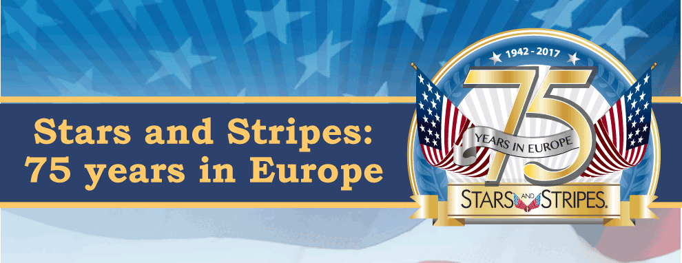 Stripes Europe 75th Anniversary